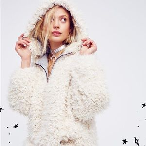 Free People Mountain Peak Fluffy Pullover